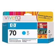 HP 70 - 130 ml Cyan Tintenpatrone