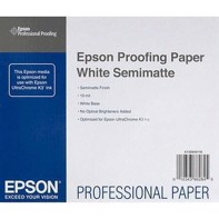 "Epson Proofing Paper White Semimatte - 13"" x 30,5 meter"